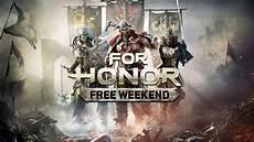 Steam Chart For Honor For Honor Gratiswochenende Auf Allen Plattformen Ab Heute