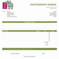 Photography Receipt Template Free 5 Photography Invoice Templates To Make Quick Invoices