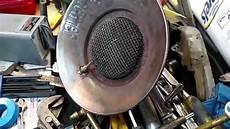 How To Light A Propane Heater Repairing A Mr Heater Sunflower Heater That Won T Light