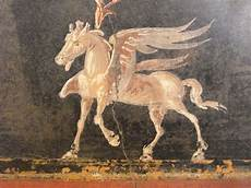 quot pegasus quot from pompeii 79 ad naples archaeological