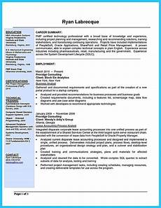 Business Analyst Project Manager Resume Sample Cool Best Secrets About Creating Effective Business