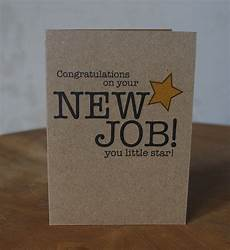 Congrats On New Job Card Congratulations New Job Card You Little Star New Job