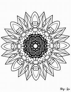 beautiful free mandala coloring pages skip to my lou