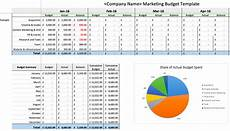 Annual Marketing Plan Template 8 Easy To Use Annual Marketing Plan And Budgeting