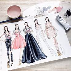 fabulous doodles fashion illustration by hagel