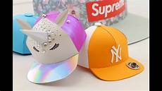 How To Make Templates How To Make A Miniature Paper Snapback Hat Easy Template