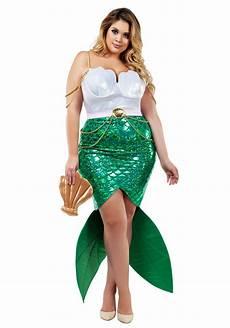 Size Chart For Mermaid Plus Size Alluring Sea Siren Mermaid Costume For Women 1x