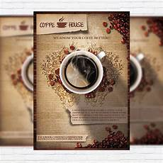 Cafe Flyer Template Coffee Shop Vol 2 Premium Business Flyer Psd Template