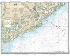 Charleston Sc Nautical Charts Themapstore Noaa Charts Florida 11521 Charleston