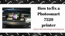 Hp Printer Not Printing Black How To Fix A Hp Photosmart Printer 7520 Not Printing