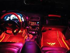 Car Interior Led Lights Red 6 Pieces Led Lights Interior Package Kit For 1994 2004