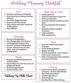 Ultimate Wedding Checklist Ultimate Wedding Planning Checklist World Of Reference