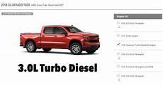 2019 Gmc 3 0 Diesel by Gm Canada Lets You Configure A 2019 Chevy Silverado 1500 3