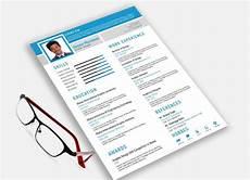 Resume Template Illustrator Free Resume Template Adobe Illustrator Resumekraft