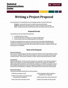 Example Of Written Proposal Informal Proposal Letter Example Writing A Project