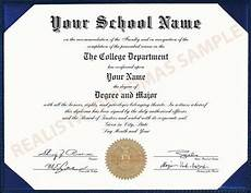 Fake Degree Certificates Free Replacement And Novelty Fake High School And University