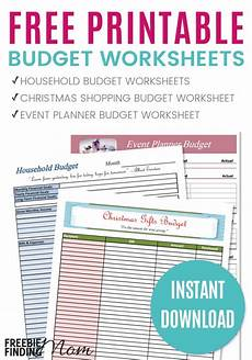 Making A Budget Planner Free Printable Budget Worksheets