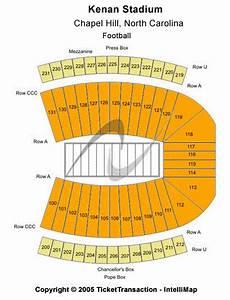 Unc Kenan Stadium Seating Chart Kenan Stadium Seating Chart