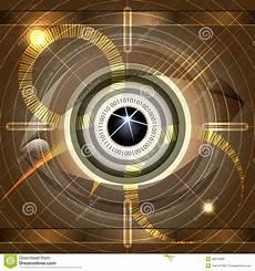 Cyber Eye Cyber Eye Stock Vector Illustration Of Backgrounds Open