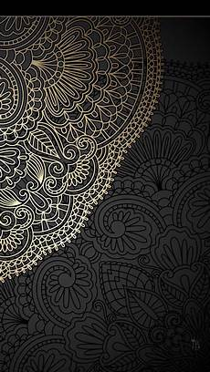 black and white mandala iphone wallpaper gold and black mandala wallpapers iphone wallpaper