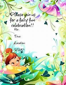 Fairy Party Invitation Wording Free Printable Fairy Invitations Freeprintables