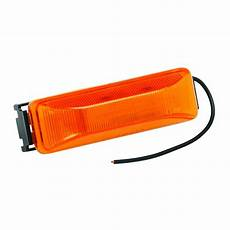 Black Clearance Lights Bargman 41 38 032 Clearance Side Marker Lights Amber With