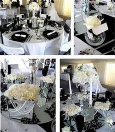 wedding inspiration center 2012 elegant black and white