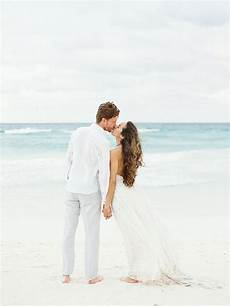 Beach Wedding Photo Albums Magical Destination Wedding In Mexico Once Wed