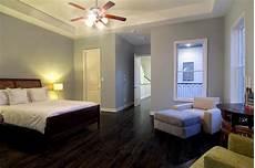 Very Light Gray Walls Dark Wood Floor Soft Grey Blue Walls Love The Simplicity