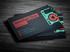 Dj Business Cards Amazing Dj Business Cards Psd Templates Design Graphic