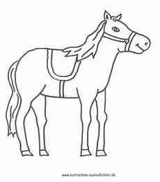 ausmalbild pferd zum ausdrucken