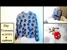diy customiza tu ropa cartera etc customize your clothes