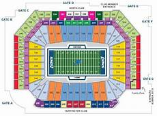 Ford Stadium Seating Chart Ford Field Seating Chart Detroit Lions In Play Magazine