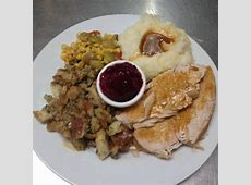 Thanksgiving Catering Menu from Lettie's Kitchen