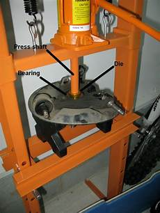 New Hydraulic Press For Bearings
