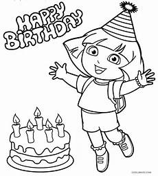 Dora Coloring Pages Free Printable Dora Coloring Pages For Kids Cool2bkids