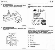 Hyundai Diesel Engine Hd4dd Service Manual Heavy