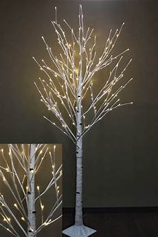 Birch Light 7 Foot White Birch Tree 240 Warm White Led S From The