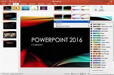 Powerpoint Custom Design Powerpoint 2016 For Mac Review New Interface And Features