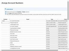 Quickbooks Online Chart Of Accounts Detail Type How To Update The Quickbooks Online Chart Of Accounts