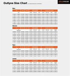 Airowear Size Chart Kids Outlyne Airowear Body Protectors