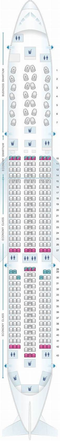 Airbus A350 900 Seating Chart Seat Map Cathay Pacific Airways Airbus A350 900 35g