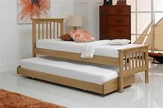 heywood solid oak guest bed 2ft6 small single the oak