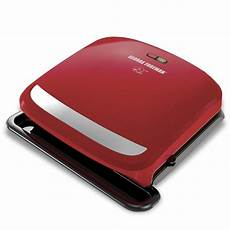 Target Grill Light 4 Serving Removable Plate Amp Panini Grill Red George