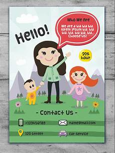 Free Daycare Flyer Templates Free 32 Daycare Flyer Templates In Ms Word Psd Ai