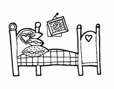 disegni da letto disegno di da letto da colorare acolore