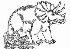 dinosaurs to print triceratops dinosaurs coloring