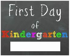 Printable Sign Free Back To School Printable Chalkboard Signs For First