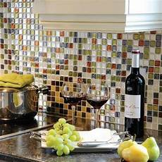 backsplash tile for kitchens cheap peel and stick tile backsplash review of pros and cons