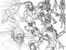 Character Design Sketches Character Design Primordial Moodboard Amp Concept Sketches